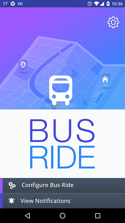 Bus Ride Parent app